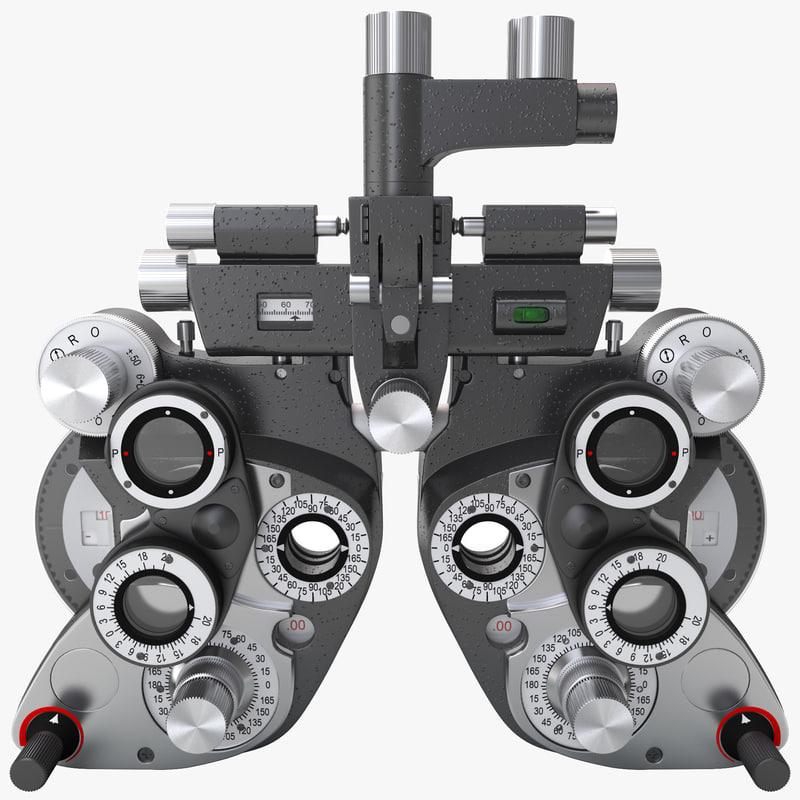 max phoropter vision tester
