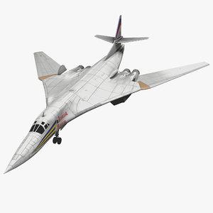 3ds max russian strategic bomber tupolev