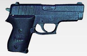 max scanned pistol sig-sauer p245
