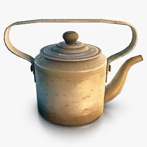 teapot normal max