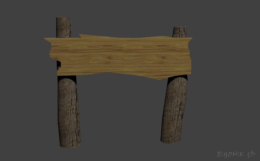 free wood 3d model