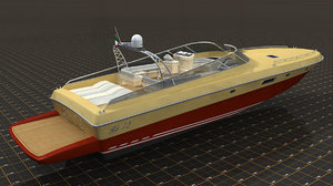 restyling boat 3d max