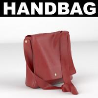 bag handbag 3d max