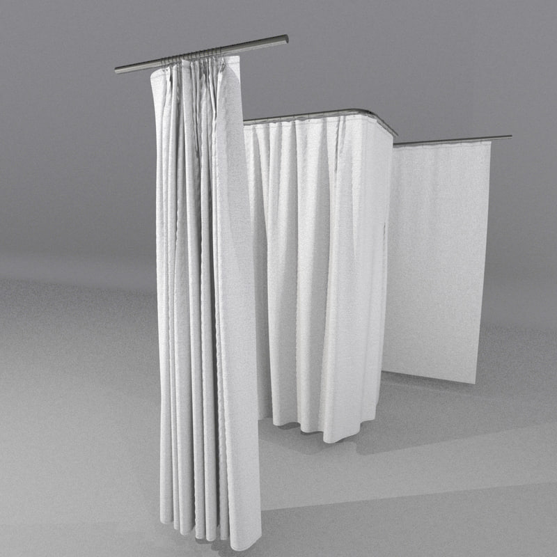 curtains interior 3d model