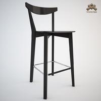 stool barstool evergreen 3d model