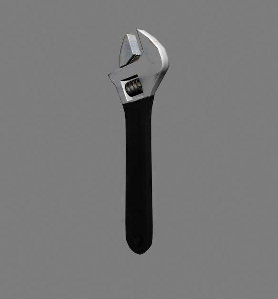 french key 3d model
