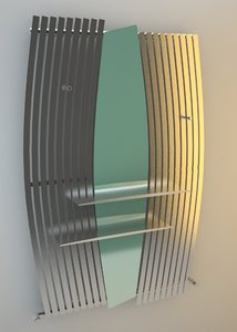3d model heater renee