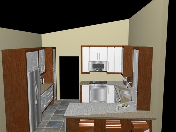 kitchen hd price 3d c4d