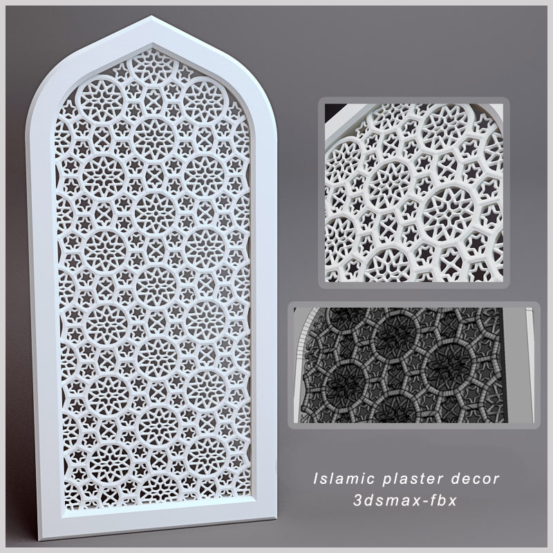 max islamic plaster decor