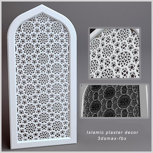 max islamic plaster decor
