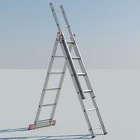 3 ladder 3d c4d