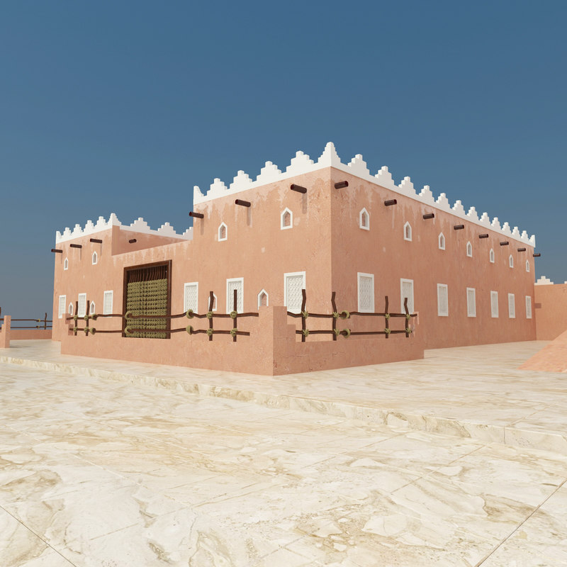 3d old arab home