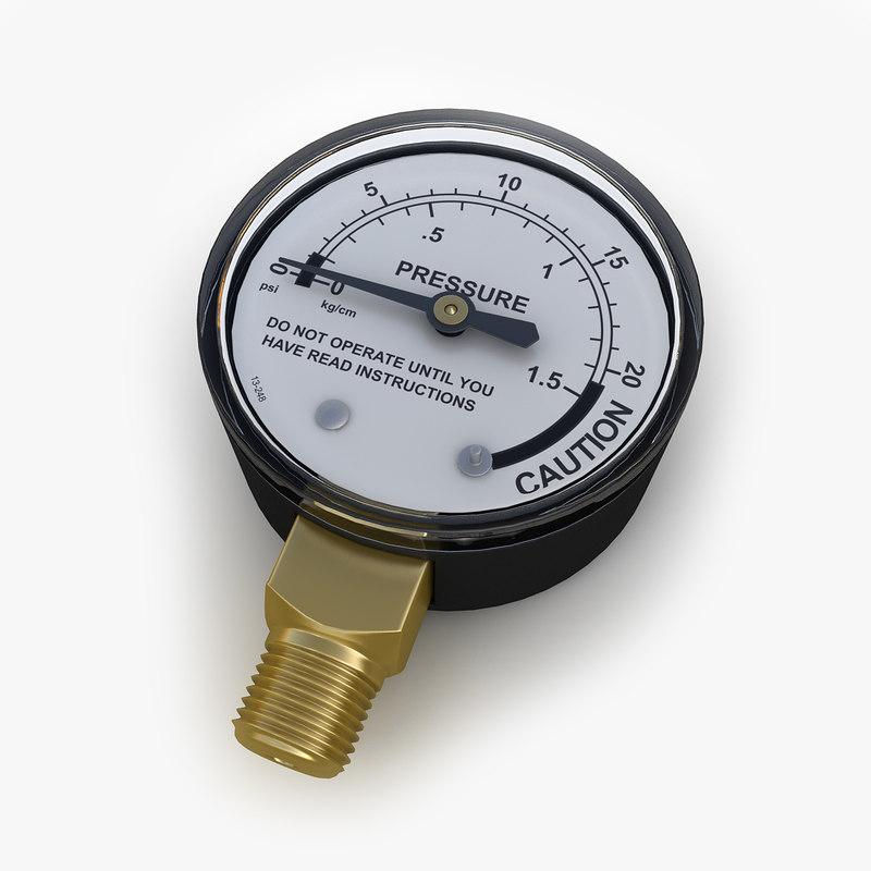 3d obj pressure gauge 03