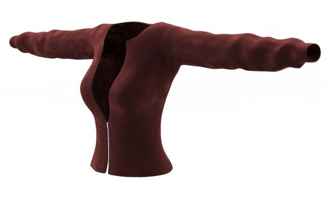 jacket cloth simulations max