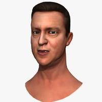 david minister 3d model