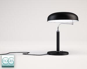 3d vintage lamp model