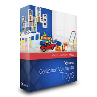 CGAxis Models Volume 40 Toys VRay