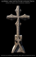 Gothic Tinwell Cross