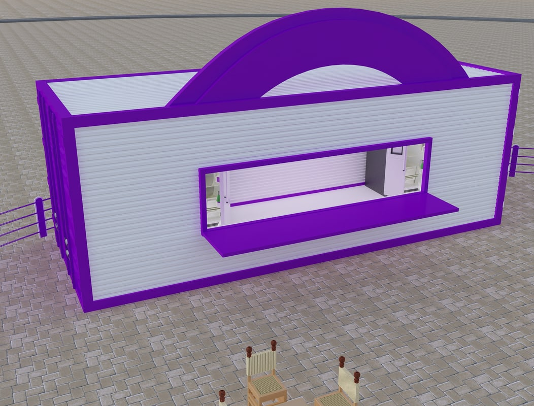3ds booth exhibition stand