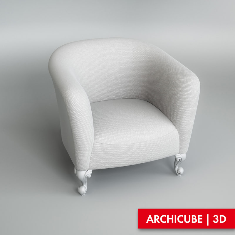 chair kid s 3d max