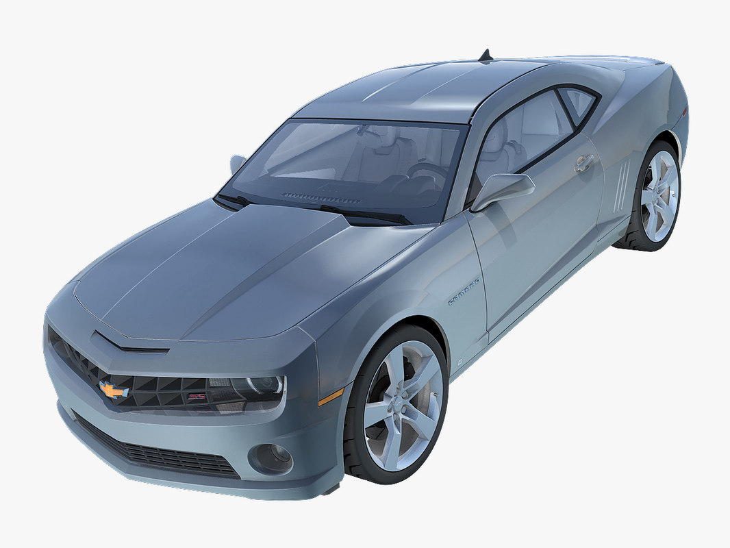 3d chevrolet camaro ss model
