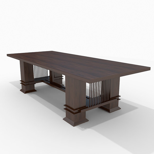 rectangular table dxf