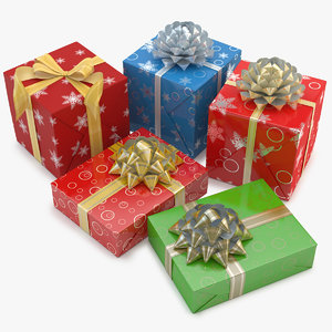 3ds max christmas gift