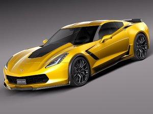 2014 chevrolet corvette 3d max