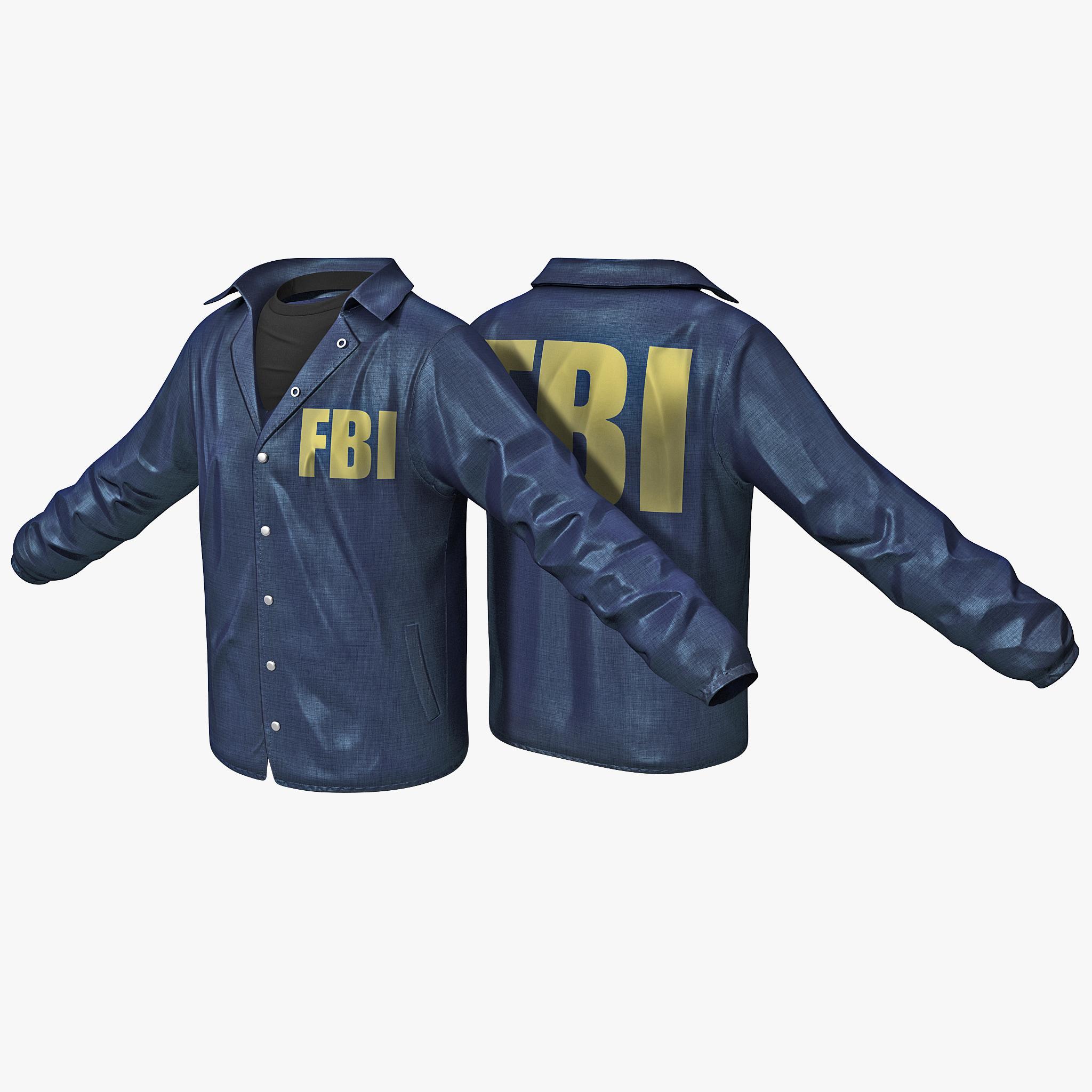3ds fbi agent shirt