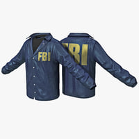 3ds fbi agent shirt