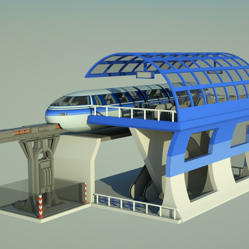 3d monorail rail mono