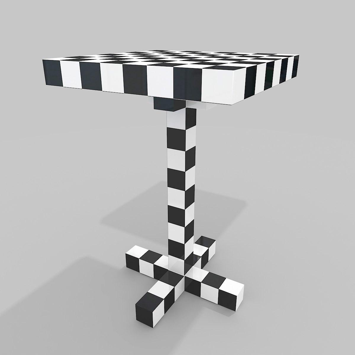 Marvelous Moooi Table Chess