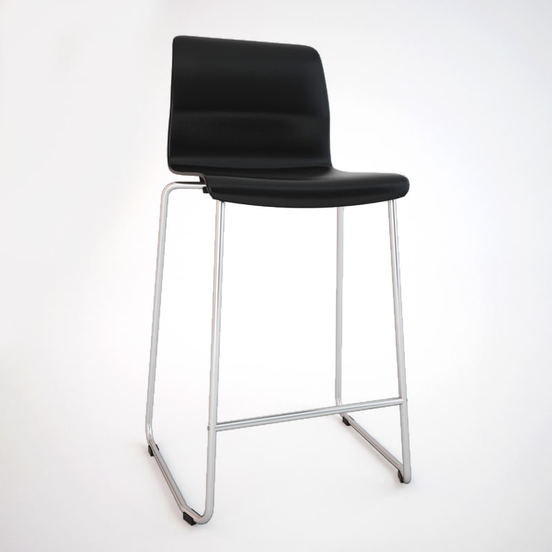 3ds max ikea glenn bar stool