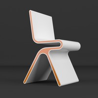 3ds max monoqi chair