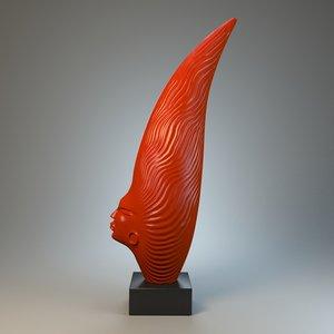 african sculpture obj