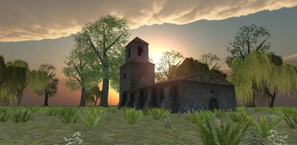 maya ready church medieval fantasy