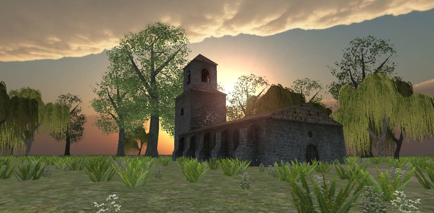 maya ready church medieval fantasy