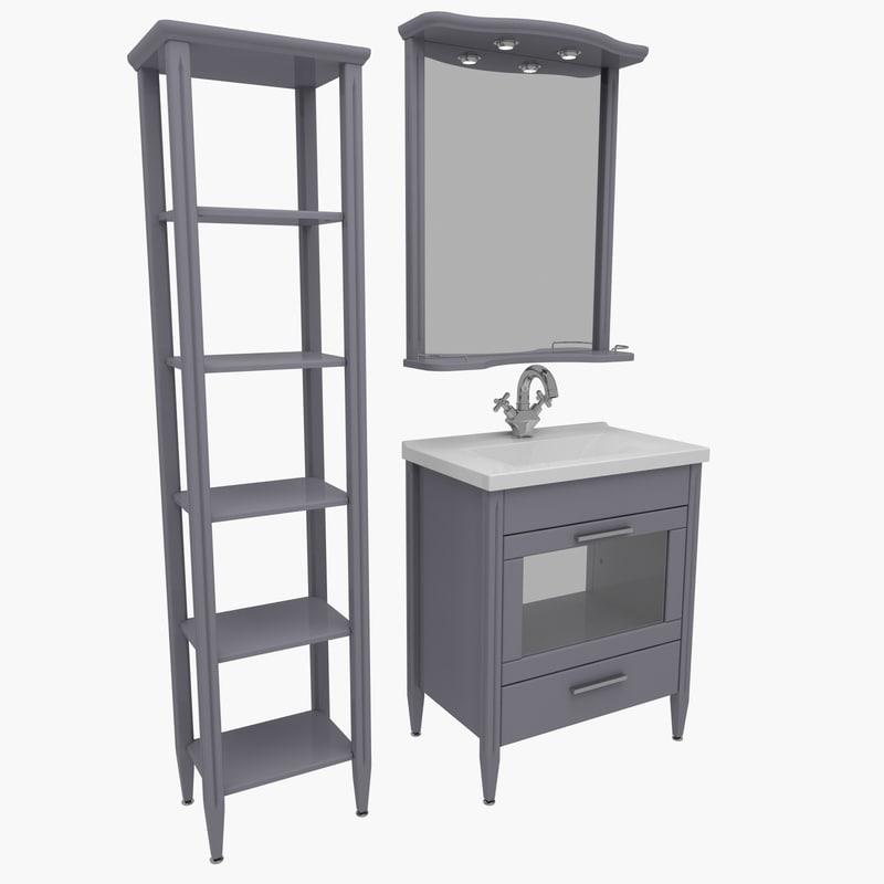 bathroom furniture house home 3d max