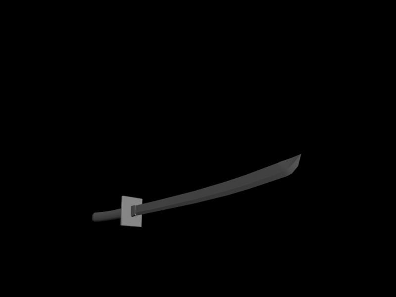 katana uv 3d model