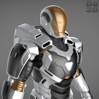 Iron Man 3 Suit - Mark 39 Gemini Armor