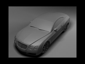 obj bentley continental