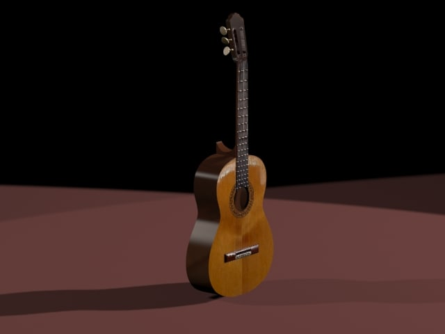 maya classic guitar