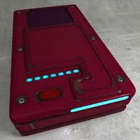 3d worn electronic model