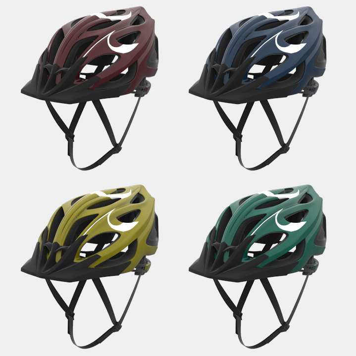 3d bicycle helmet model