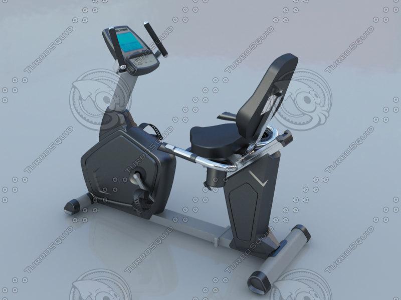3ds max horizontal biycle