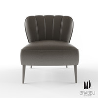 3d model brabbu armchair