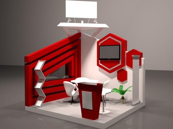 exhibition booth design max