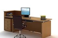 Office Desk & Chair 0