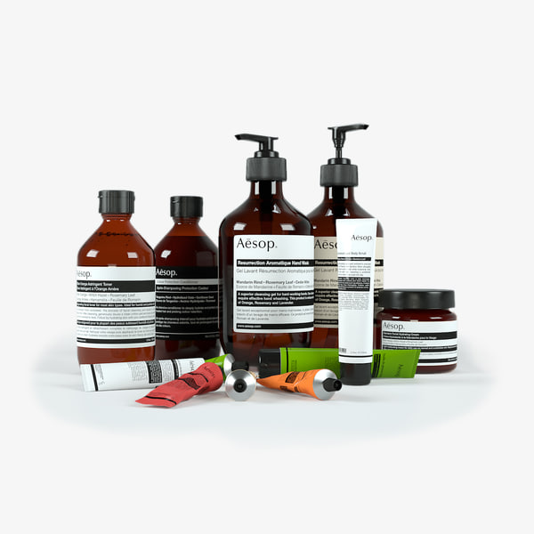 3ds max bath products aesop