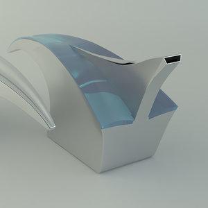 teapot tea pot 3d model